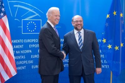 Στις Βρυξέλλες ο πρόεδρος των ΗΠΑ, Joe Biden