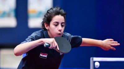 Hend Zaza: Η 12χρονη αθλήτρια πινγκ πονγκ που γράφει ιστορία στους φετινούς Αγώνες!