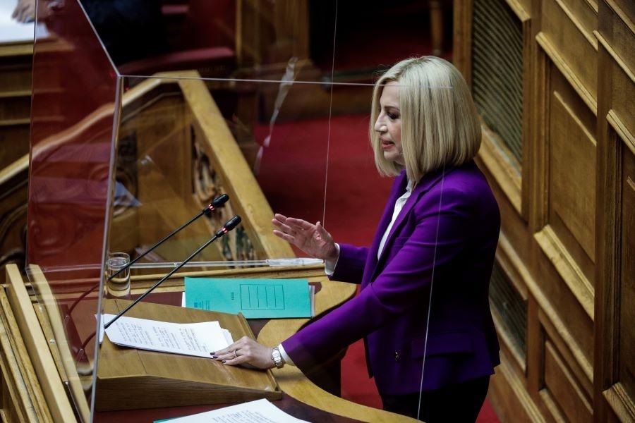 Φώφη Γεννηματά: Απαιτείται ένας Ελληνικός Κλιματικός Νόμος - Επιστολή σε Μητσοτάκη και αρχηγούς Κ.Ο