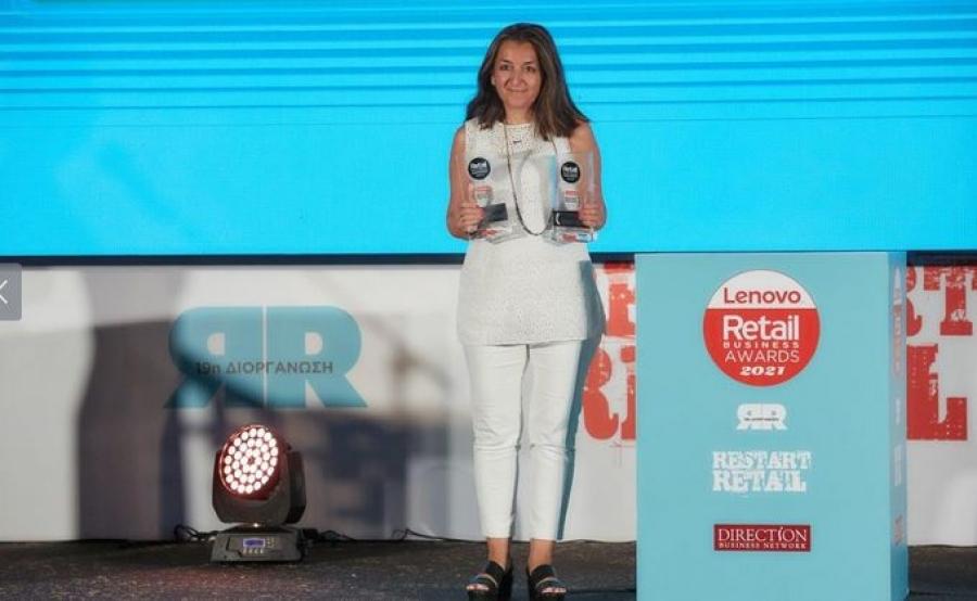 Διπλή διάκριση για την Μπάρμπα Στάθης στα Retail Business Awards 2021