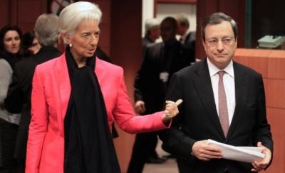 Lagarde και Draghi προειδοποιούν: Κίνδυνος για αρνητικές εξελίξεις στον εμπορικό πόλεμο ΗΠΑ - Κίνας