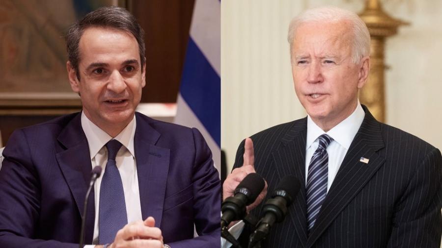 Biden - Μητσοτάκης: Πραγματοποιήθηκε η πρώτη μεταξύ τους συνομιλία