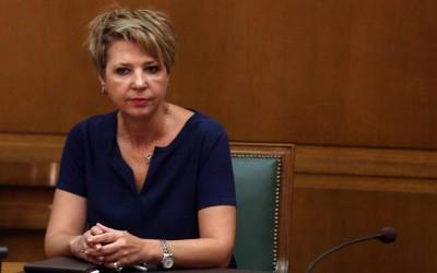 Γεροβασίλη: Να ανακαλέσει ο Γεωργιάδης ή να παραπεμφθεί στην Επιτροπή Δεοντολογίας