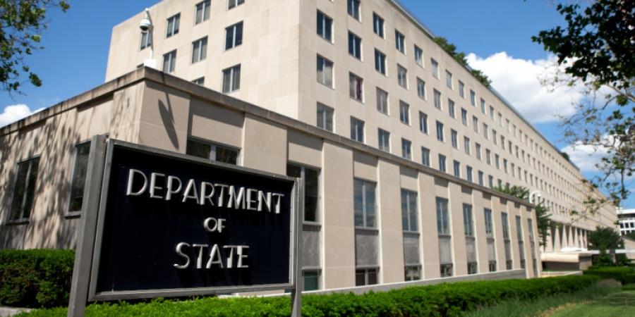 State Department: Χαιρετίζουμε την επανέναρξη των συνομιλιών Ελλάδας - Τουρκίας