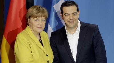 Πάγος από Βερολίνο για γερμανικές αποζημιώσεις - Η ατζέντα της συνάντησης Τσίπρα με Merkel στην Αθήνα