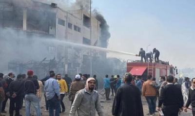 Αίγυπτος: Τουλάχιστον 20 νεκροί από φωτιά σε εργοστάσιο