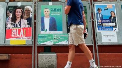 Γαλλία: Πρόβα τζενεράλε οι περιφερειακές εκλογές ενόψει των προεδρικών - Αποχή ρεκόρ και η ακροδεξιά σε πλεονεκτική θέση