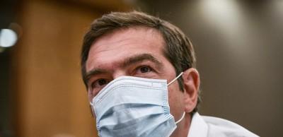 Ο Αλέξης Τσίπρας θα εμβολιαστεί κατά του κορωνοϊού τη Δευτέρα 28 Δεκεμβρίου