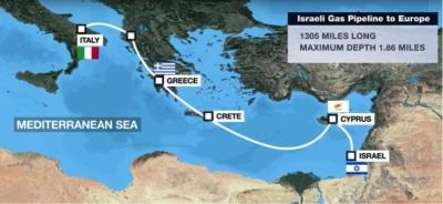 Η Ελλάδα υπογράφει σήμερα 2/1 για τον EastMed σε...θολό τοπίο -  Μητσοτάκης με Netanyahu, Aναστασιάδη, θωρακίζουν με μέτρα προστασίας τον αγωγό