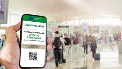 ΕΕ: Στις 30 Ιουνίου η πλήρης λειτουργία του πιστοποιητικού covid 19
