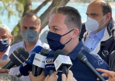 Καταστροφική πυρκαγιά στα Γεράνεια Όρη - Στάχτη έγιναν πάνω από 71.000 στρέμματα - Οι παρεμβάσεις στήριξης των πυρόπληκτων