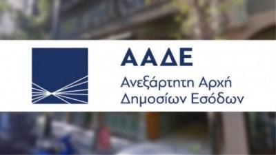 ΑΑΔΕ: Παράταση στις προθεσμίες για υποβολή δηλώσεων φόρων και τελών
