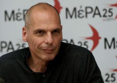 Βαρουφάκης (ΜεΡΑ25): Στο 15% η μείωση του ελληνικού ΑΕΠ λόγω κορωνοϊού – Επιστημονικά ανεπαρκής ο Στουρνάρας