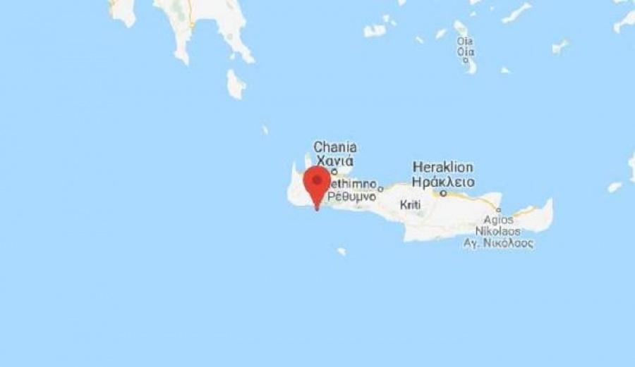 Νέος σεισμός στην Κρήτη 4,5 ρίχτερ στη θαλάσσια περιοχή των Σφακίων