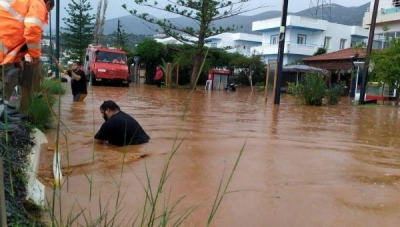 Αγρίνιο: Εκκενώθηκε προληπτικά οικισμός λόγω της ανόδου της στάθμης του νερού στη λίμνη Λυσιμαχεία