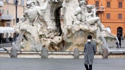 Ιταλία: Ελαφρά κάμψη του τρίτου κύματος με 16.974 νέα κρούσματα (15/4)