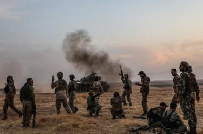 Τουλάχιστον 90 μαχητές σκοτώθηκαν σε διάστημα μίας εβδομάδας στο βόρειο τμήμα της Συρίας