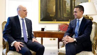 Στην Αθήνα αύριο (9/6) ο Luigi di Maio (Ιταλία) - Συνάντηση με Νίκο Δένδια για ΑΟΖ, τουρισμό και Ταμείο Ανάκαμψης