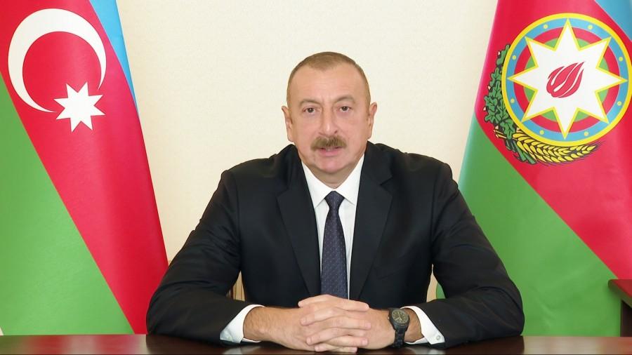 Aliyev: Η συμφωνία για το Nagorno Karabakh ικανοποιεί πλήρως τα συμφέροντα του Αζερμπαϊτζάν