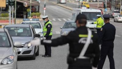 Απαγόρευση κυκλοφορίας: 556 πρόστιμα μόνο το Σάββατο (28/3) - Συνολικά έχουν καταγραφεί 5.762 παραβάσεις