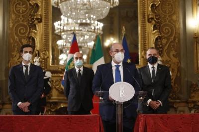 Ιταλία: Ψηφιακό δημοψήφισμα διοργανώνει τo Μ5S για το εάν θα στηρίξει τον Draghi (10/2)