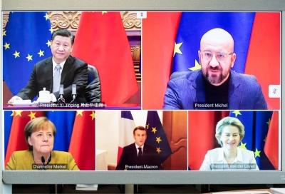 Bloomberg: Η Κίνα επιβεβαιώνει τις επαφές με Γαλλία και Γερμανία