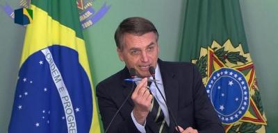 AFP: Αντίποινα Bolsonaro στις δηλώσεις Macron για τον Αμαζόνιο - Μποϊκοτάρει τα γαλλικά προϊόντα στη Βραζιλία