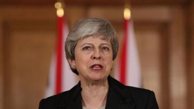 Theresa May: Οι σκέψεις μου είναι με τον λαό της Γαλλίας