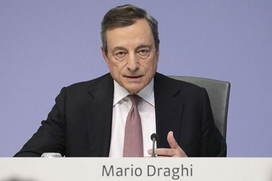 Draghi (ΕΚΤ): Ισχυρή η ανθεκτικότητα του τραπεζικού συστήματος στην ευρωζώνη