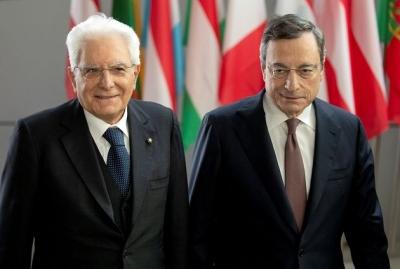 Ιταλία - O Mattarella προτείνει Draghi: Κατά Salvini, Meloni, M5S - Υπέρ Berlusconi, Renzi, Δημοκρατικοί