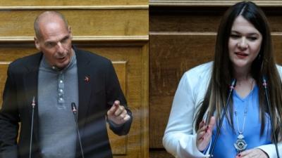 Ανακοινώθηκε η ανεξαρτητοποίηση της βουλευτού Κ. Αδάμου από το ΜεΡΑ25