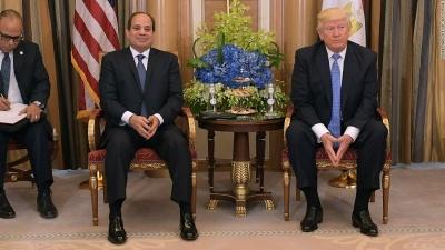 Trump για el-Sisi: Είναι σπουδαίος πρόεδρος - Κάνει σπουδαία δουλειά