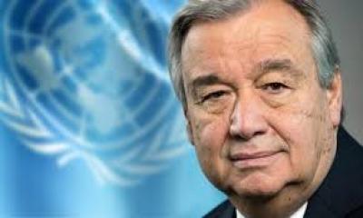 Guterres (ΟΗΕ): Είναι αναγκαίο να αποχωρήσουν από τη Λιβύη οι ξένοι μισθοφόροι και στρατιώτες