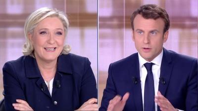 Γαλλία: Μπροστά η Le Pen με 28%, έναντι 27% του Macron  - Κερδίζει έδαφος η ηγέτιδα της ακροδεξιάς