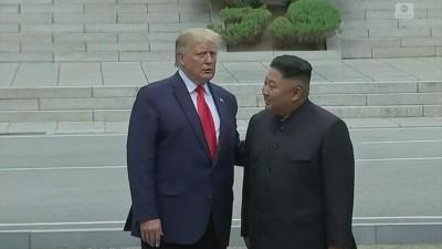 Μήνυμα Kim Jong Un σε Trump για καλή ανάρρωση από τον κορωνοΐό