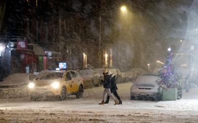 ΗΠΑ: Σε συναγερμό οι βορειοανατολικές πολιτείες λόγω σφοδρής χιονοθύελλας