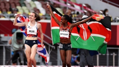 Στίβος: Ξανά στην κορυφή των 1500μ η Κιπγιέγκον με νέο Ολυμπιακό ρεκόρ