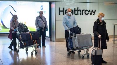 Ποιοι ταξιδιώτες στο Ην. Βασίλειο θα μπαίνουν σε 10ήμερη καραντίνα σε ξενοδοχεία