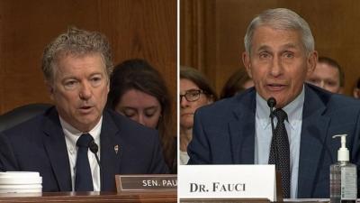 Γερουσιαστής στις ΗΠΑ κατά Fauci για Covid: Είσαι ψεύτης και διαστρεβλώνεις την πραγματικότητα