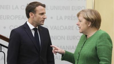 Συνάντηση Merkel-Macron την Κυριακή (13/10)