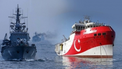Aντι-Navtex από την Τουρκία, που «βλέπει» τουρκική υφαλοκρηπίδα νοτίως της Κρήτης
