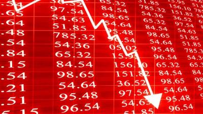 Πτώση στις αγορές μετά το άλμα στα επιδόματα ανεργίας των ΗΠΑ και την ΕΚΤ - Ο DAX στο -0,9%, τα futures της Wall -0,6%