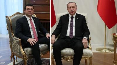 Επίθεση Erdogan σε Imamoglu – Τον κατηγορεί για ευθυγράμμιση με τον Gulen