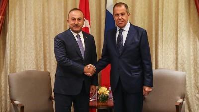 Lavrov - Cavusoglu: Να σταματήσουν άμεσα οι εχθροπραξίες στο Nagorno - Karabakh