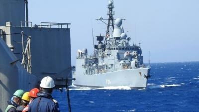 Συνεκπαίδευση ναυτικών μονάδων Ελλάδας και Γερμανίας στο Αιγαίο
