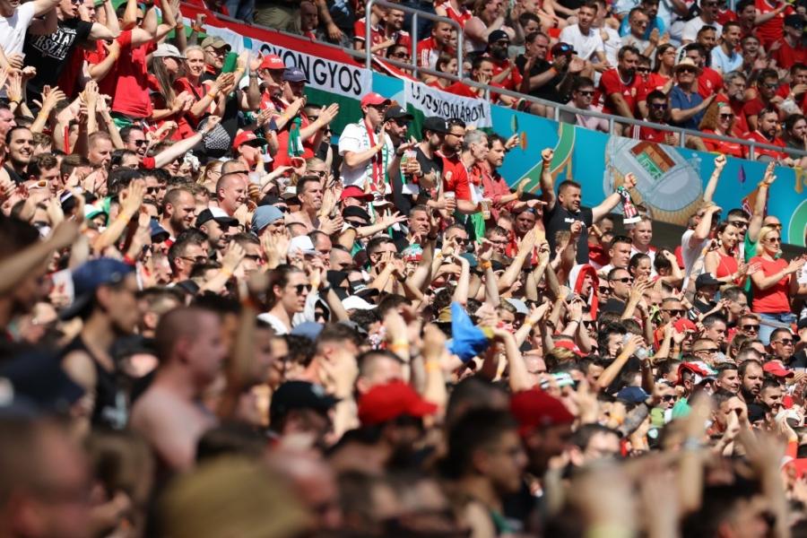 EURO 2020: Τρομερή ατμόσφαιρα στη Βουδαπέστη! (video)