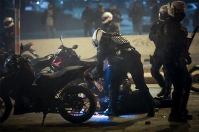 Η επίθεση σε βάρος του αστυνομικού