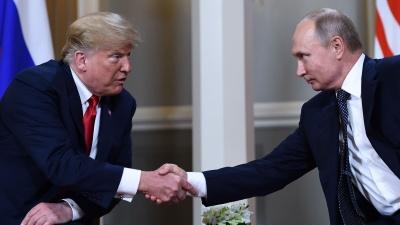 Επιστολή Trump στον Putin με σκοπό τη βελτίωση των σχέσεων ΗΠΑ – Ρωσίας