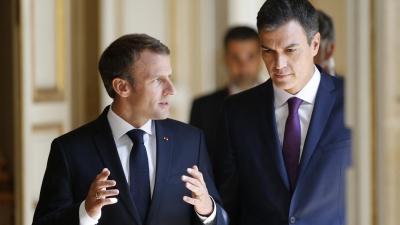 Γαλλία - Ισπανία: Συνάντηση Macron - Sanchez για τις κορυφαίες θέσεις της ΕΕ