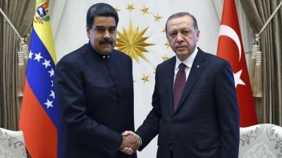 Συγχαρητήρια Erdogan σε Maduro για την επανεκλογή του στην προεδρία της Βενεζουέλας